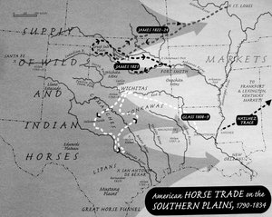 American Horse Trade on the Southern Plains, 1790–1834