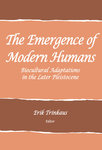 The Emergence of Modern Humans, Book Cover