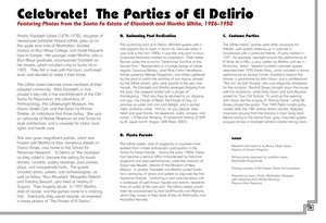 Celebrate! The Parties of El Delirio: Featuring Photos from the Santa Fe Estate of Elizabeth and Martha White, 1926–1950