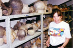 Linda Cordell at the CU Museum of Natural History (2000)