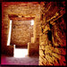 Doorway in Pueblo Bonito, Chaco Canyon