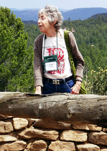Linda Cordell at Arrowhead Ruin (2013)