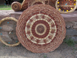Baskets made by Andrew Harvier