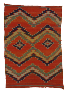 IAF.T659, Diné (Navajo) textile, maker unknown