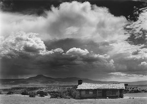 Approaching Storm Over City Slickers Movie Cabin, Ghost Ranch, NM, 2004
