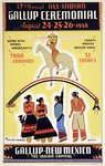 Gallup Indian Ceremonial poster
