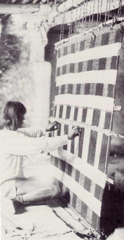 Pueblo Embroidery- History