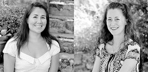 Kelsey Potdevin and Jennifer McCarty–Anne Ray Interns