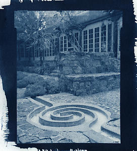 Cyanotype of the SAR Spiral