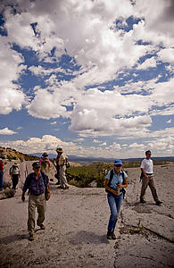 Field Trip: Behind the Fence on the Pajarito Plateau
