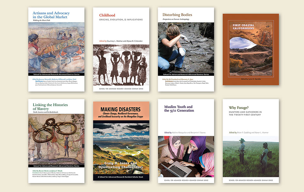 A small selection of SAR Press book covers