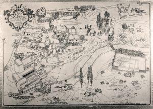 Map of El Delirio (1927), now SAR's campus
