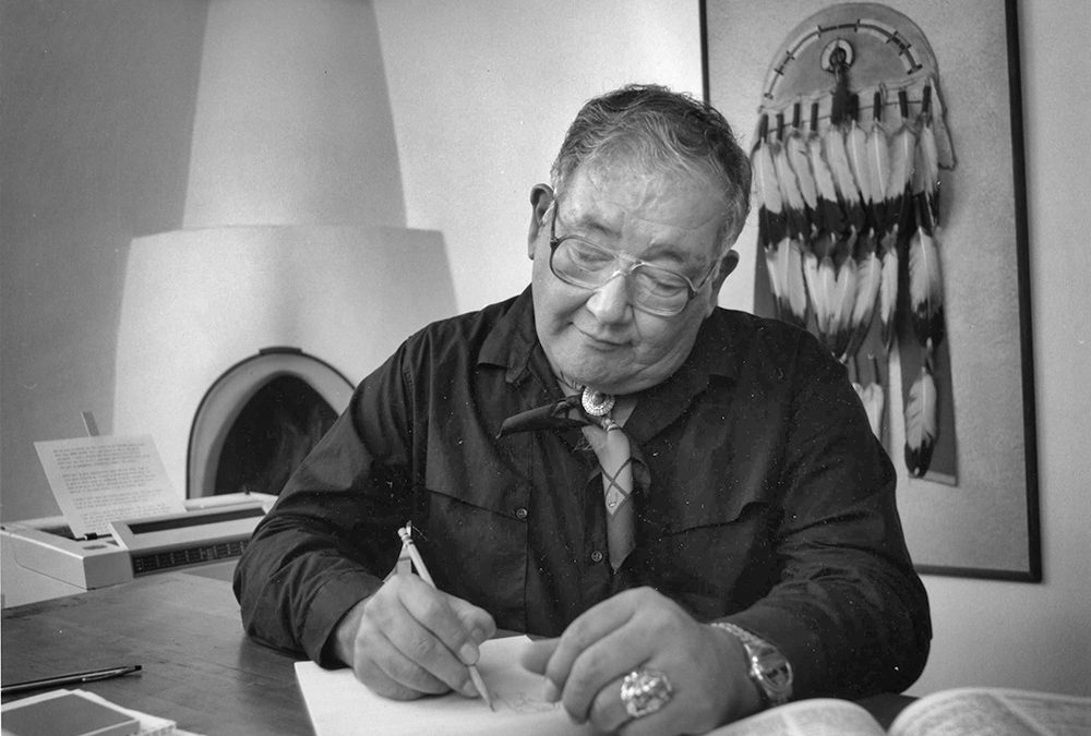 SAR Alumnus N. Scott Momaday Adds Two More to his List of Awards
