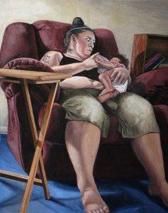 """Luanne Redeye. """"Karlene"""", 2012."""