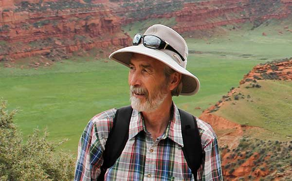 """SAR Former Weatherhead Fellow and Public Lecturer Dr. Robert L. Kelly interviews with Lorene Mills from New Mexico PBS on his new book, """"The Fifth Beginning."""""""