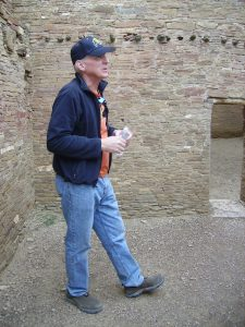 Steve Lekson at Pueblo Bonito