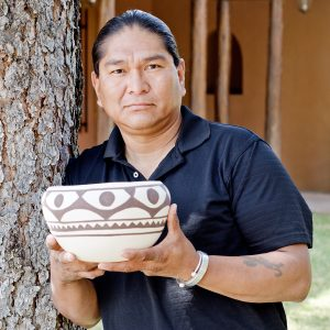 Ray Garcia and his San Felipe Pottery