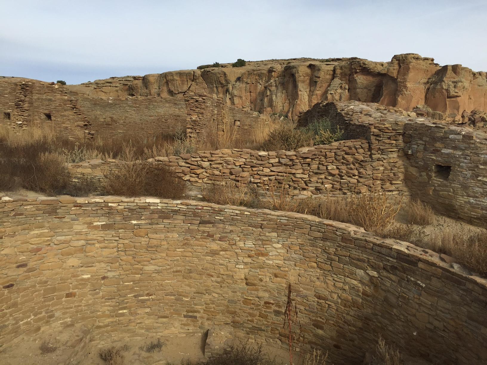 Walls at Chaco