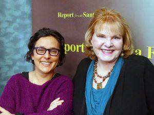 Dr. Gabriella Coleman and Lorene Mills.
