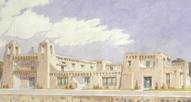 Author Christine Mather speaks on Pueblo Revival Architecture