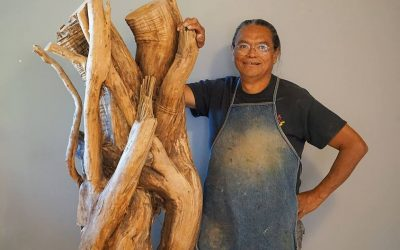 The Gnarly Root Project: SAR Welcomes Hopi Artists Gerry Quotskuyva