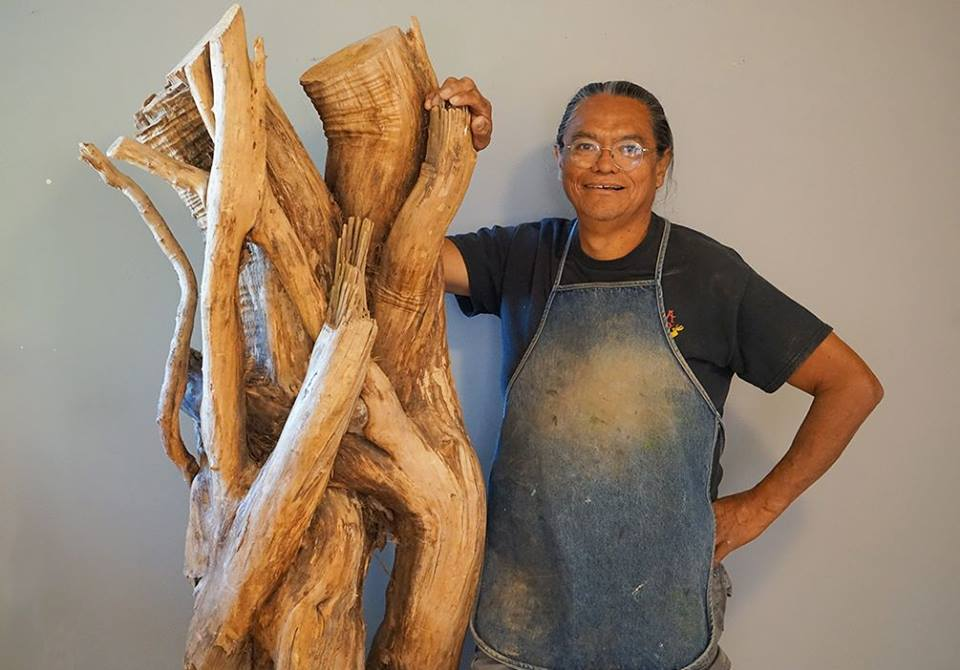 The Gnarly Root Project: SAR Welcomes Hopi Artist Gerry Quotskuyva