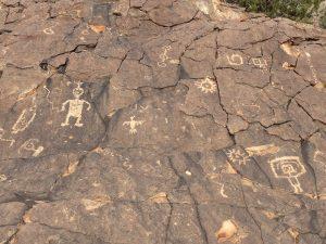 Mimbres Petroglyph