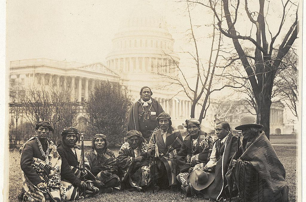 Pueblo Activists and Allies against the Bursum Bill of 1921