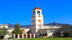 The bell tower at the Autry Museum of the American West © Danielle Klebanow
