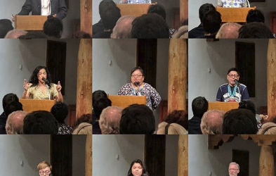 Listen to the Introductory Presentations by SAR's 2019 Resident Scholars, Interns, and King Native Artist Fellow