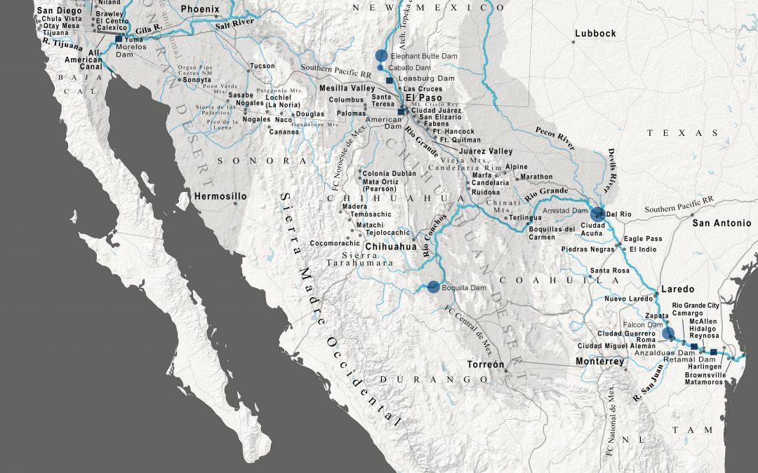 US Mexico bioregion map