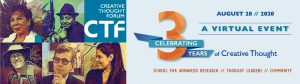 Celebrating Three Years of Creative Thought: A Virtual Event @ Hosted online