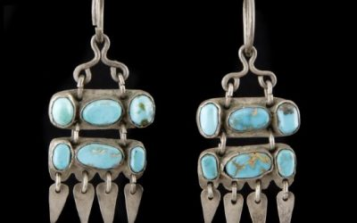 In the Vault: Perfectly Balanced – Zuni Earrings