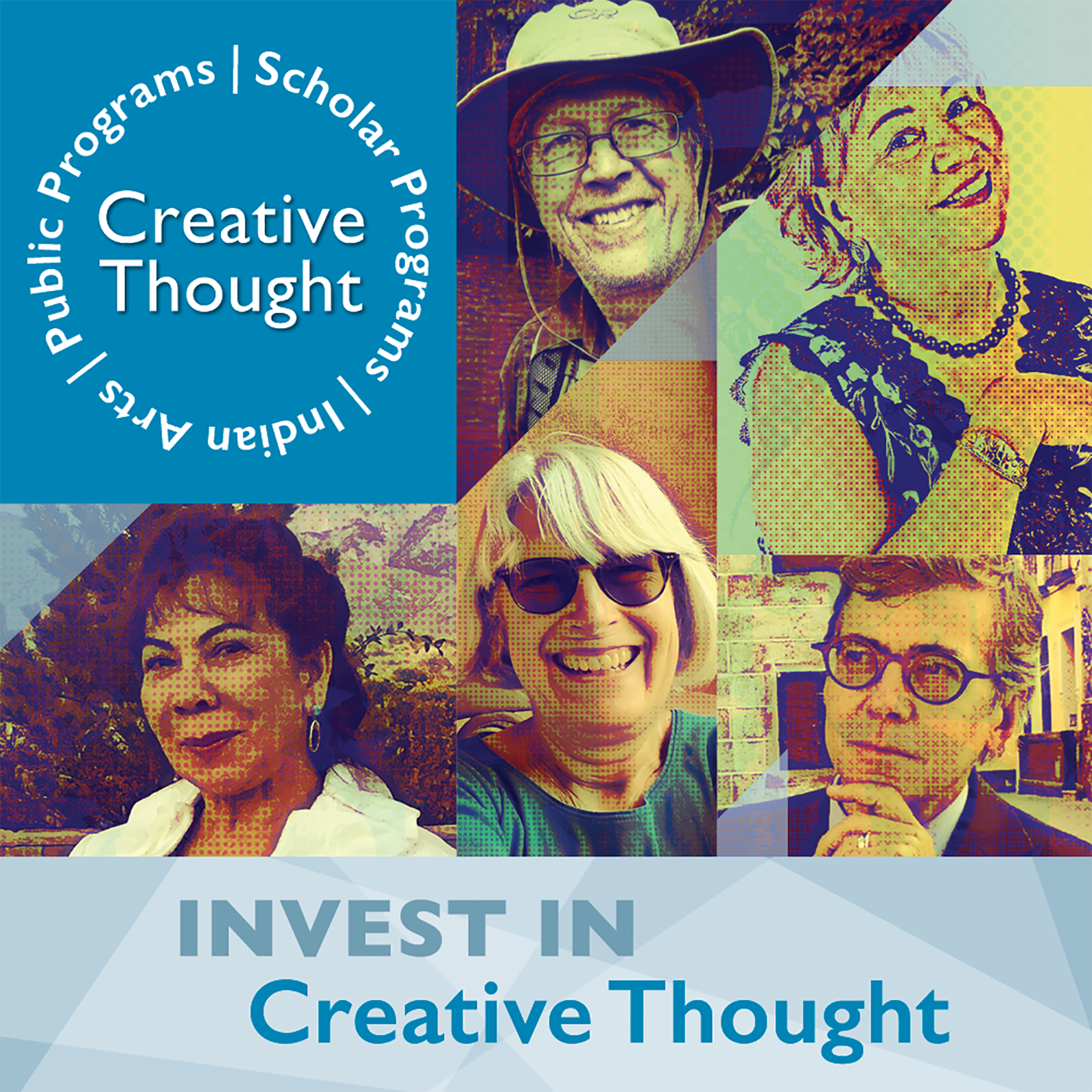 SAR 2020 fall appeal mobile graphic invest in creative thought with anthropology scholars and native American artists