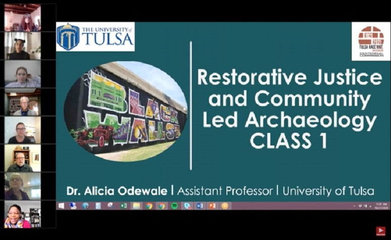 screenshot from the 2020 In-Depth course with Alicia Odewale