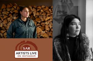 SAR Artists Live with Bazille Owen-Reese and Darby Raymond-Overstreet @ SAR's Instagram Page