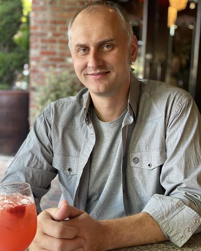 Klinton Burgio-Ericson, SAR 2022 Mellon Fellow Resident Scholar