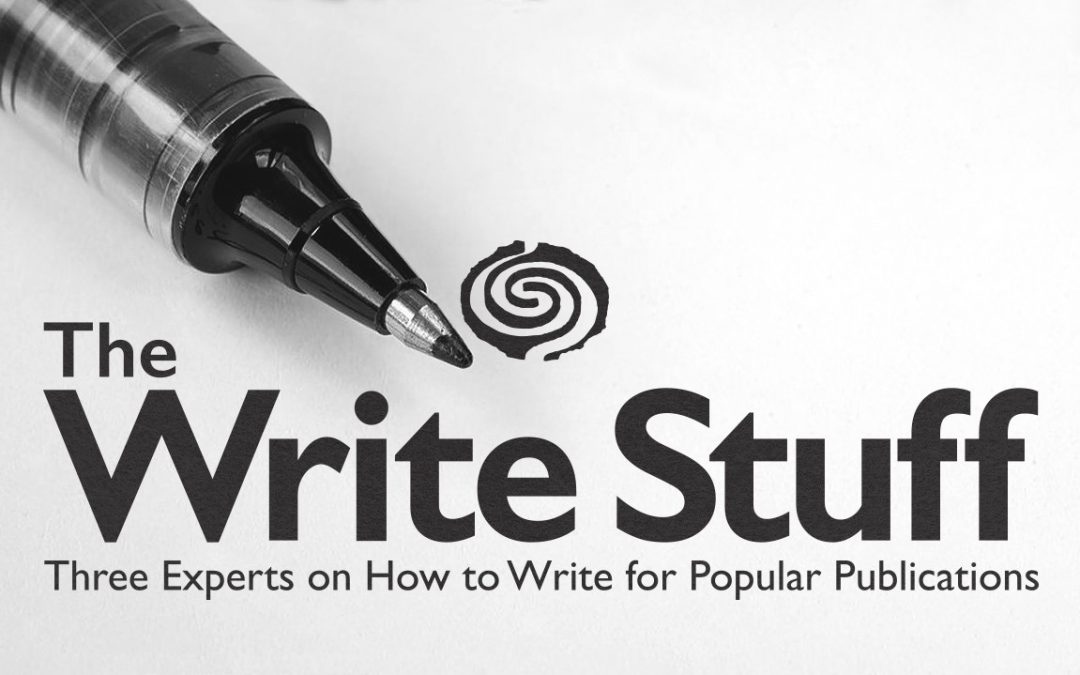 SAR Alumni Event – The Write Stuff: Three Experts on How to Write for Popular Publications