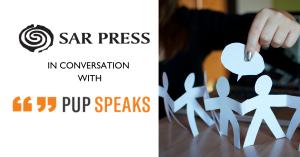 SAR Press Editors' Conversations: Katie Stileman of PUP Speaks @ Hosted Online. Register Below.